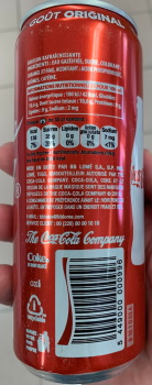 Coca Cola 24x33 cl Cans -French Text