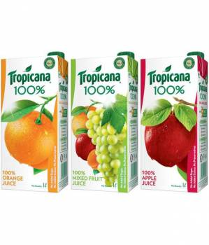 100% Tropicana Juice Drink