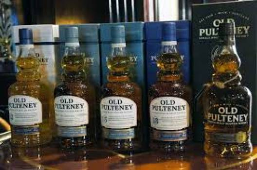 Old Peulteney whiskies