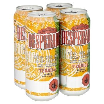 Desperados beer 330ml bottle and Desperados beer 500ml cans