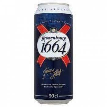 French Kronenbourg 1664 | 50cl Can