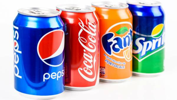Top Brand Soft Drinks Required
