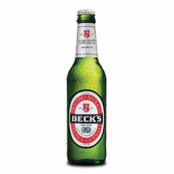 Becks Bottles 24x330ml 5%